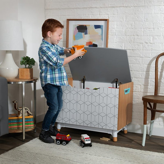 Mid-Century Modern Toy Box