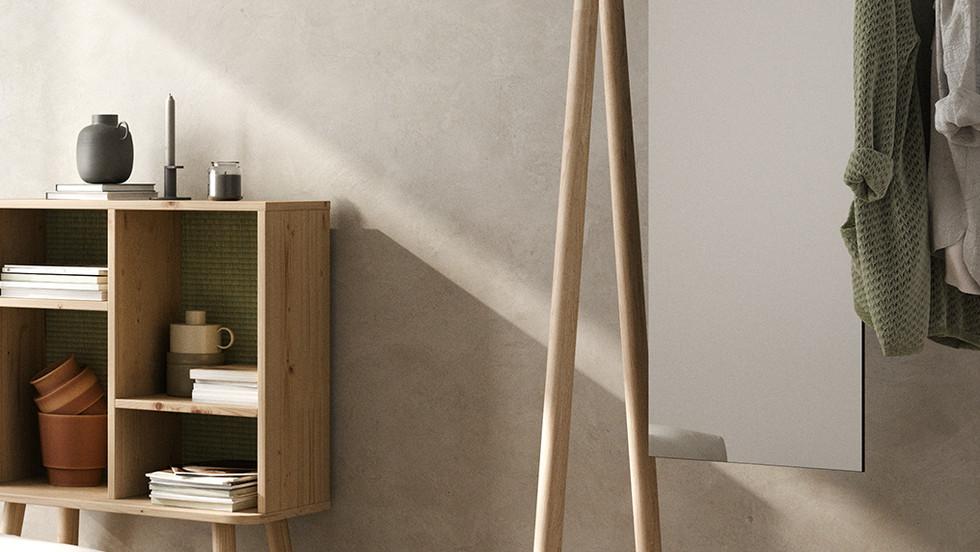 κρεμάστρα με καθρέπτη για οικίες και επαγγελματικούς χώρους