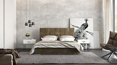 Eleana ντυμένο ημίδιπλο κρεβάτι ειδική προσφορά με το ύφασμα,στρώμα-υπόστρωμα κρεβάτι μονό