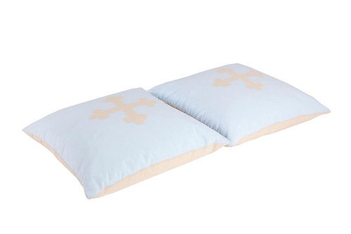 σετ παιδικών μαξιλαριών από βαμαβκερό ύφασμα θέμα: Ιππότης
