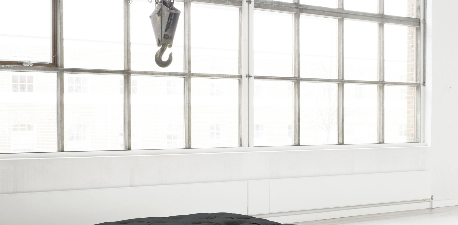 μονό στρώμα 80Χ200 με βαμβάκι και λάτεξ
