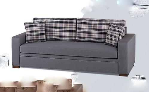 συρόμενος διπλός καναπές κρεβάτι με 2 στρώματα