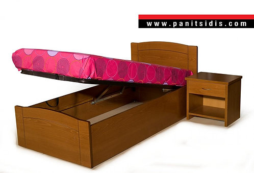 κρεβάτι ξύλινο με αποθηκευτικό χώρο,κρεβάτια ξυλινα με μπαούλο,ξύλινα κρεβάτια με μπαούλο,xilino krebati me apothikeftiko xor