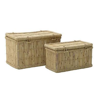 Indonesia 4 set / σετ καλάθια bamboo