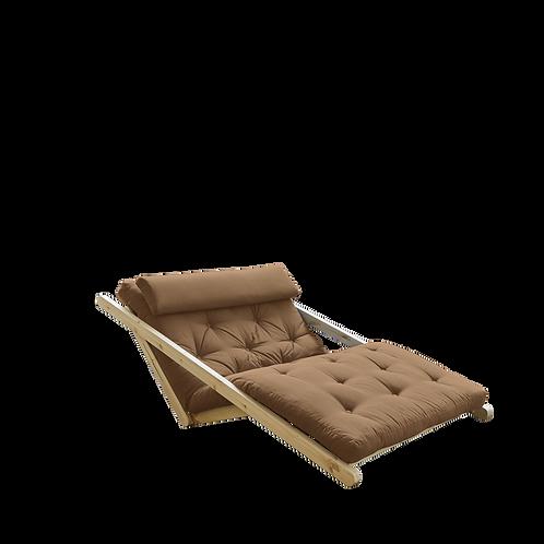 διθέσια πολυθρόνα κρεβάτι με στρώμα futon 120X200