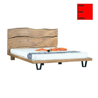 Tokyo bed 160 / διπλό μασίφ κρεβάτι