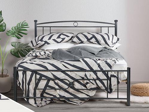 Οικονομικό Πακέτο Κρεβάτι σιδερένιο με στρώμα διπλό