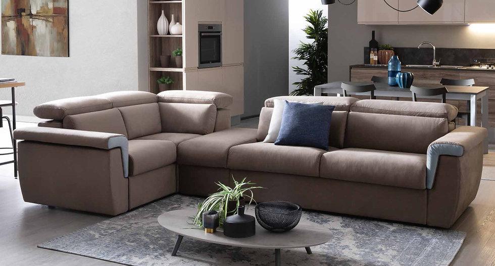 Καναπές γωνία κρεβάτι με αποθηκευτικό χώρο