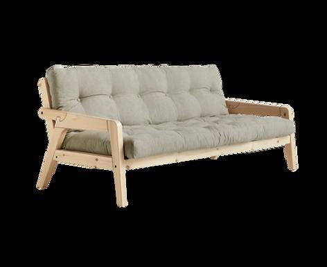 Grab Sofa Bed Natural / Τριθέσιος Καναπές Κρεβάτι
