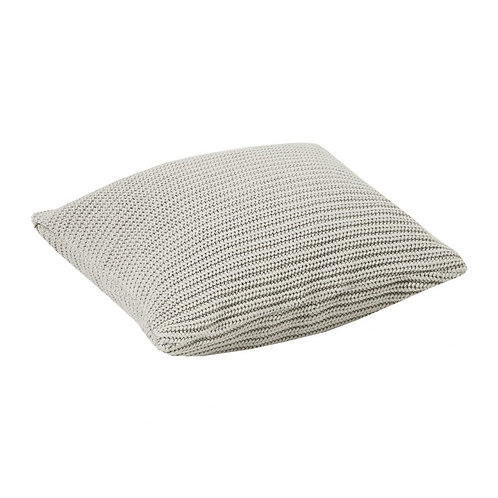 τετράγωνο διακοσμητικό μαξιλάρι σε γκρι ύφασμα
