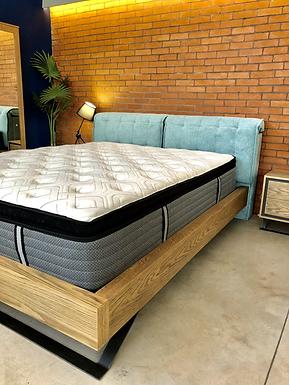 Cavo Bed / Διπλό Κρεβάτι ξύλο, μέταλλο, ύφασμα