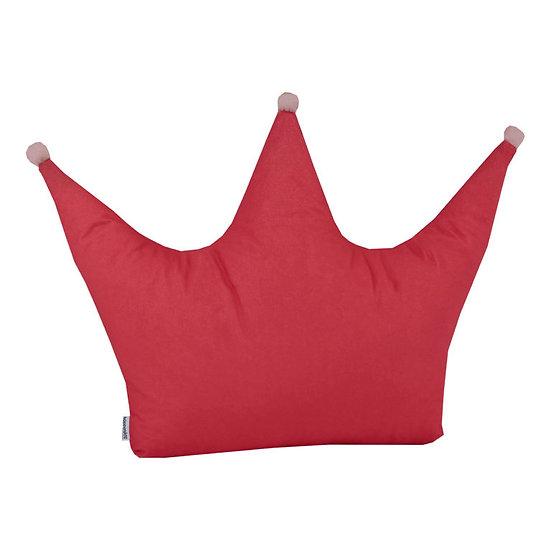 Παιδικό μαξιλάρι crown ροζ