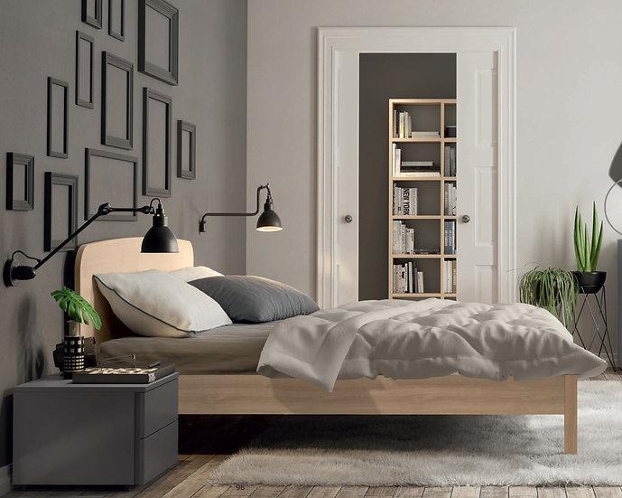 Ξύλινο κρεβάτι σε πολλές διαστάσεις