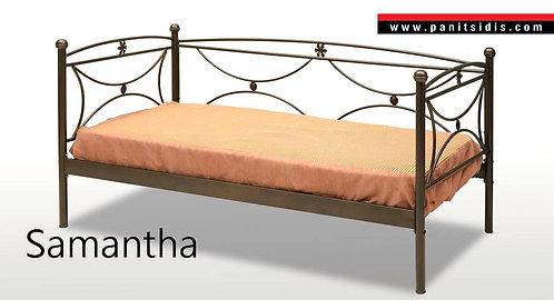 Μεταλικός καναπές οικονομικός,σιδερένιος καναπές κρεβάτι,siderenios kanapes krevati me plati monos