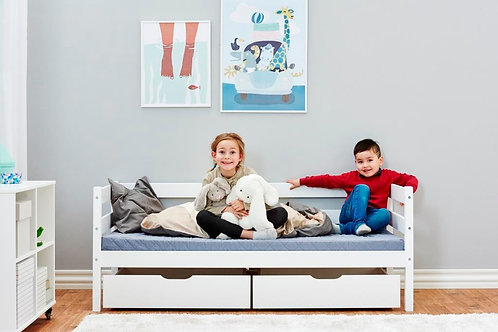 Junior Bed-premium with drawers / μασίφ κρεβάτι με 2 συρτάρια