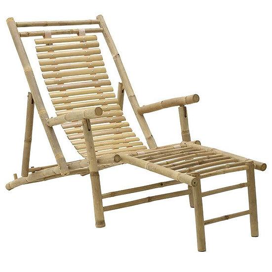 χειροποίητη ξαπλώστρα bamboo
