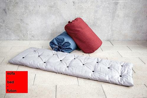 Bib-bed in a bag