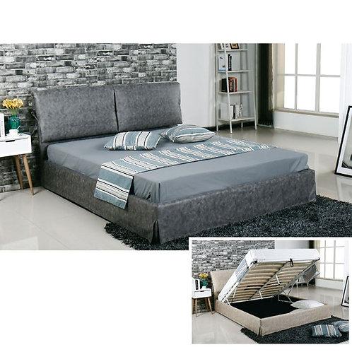 Ντυμένο Διπλό κρεβάτι