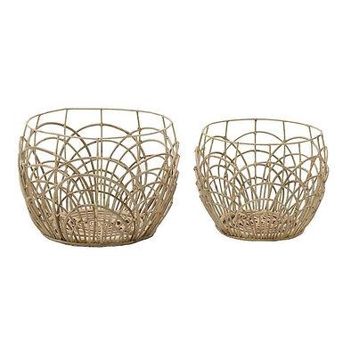 Sobri / Σετ Καλάθια Bamboo