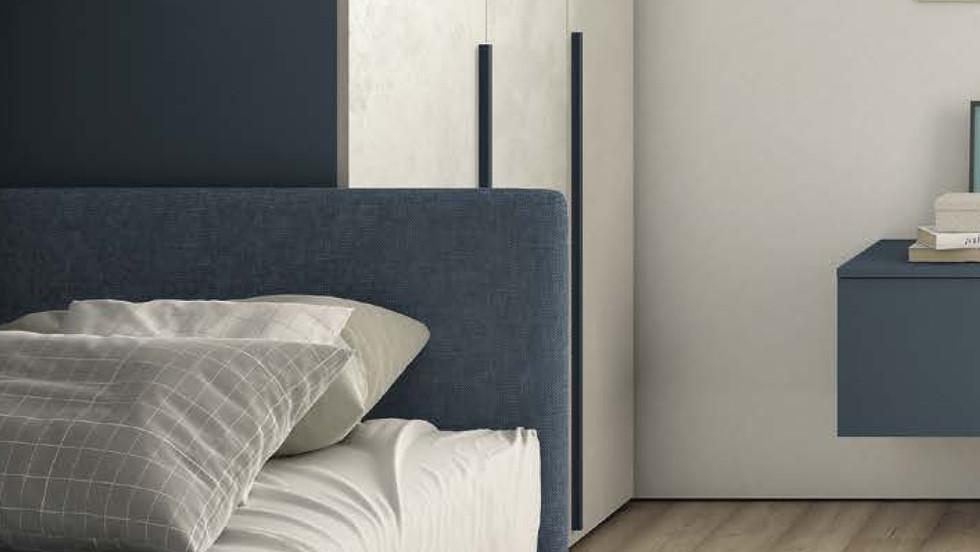 Ιταλικός καναπές κρεβάτι με δεύτερο συρόμενο