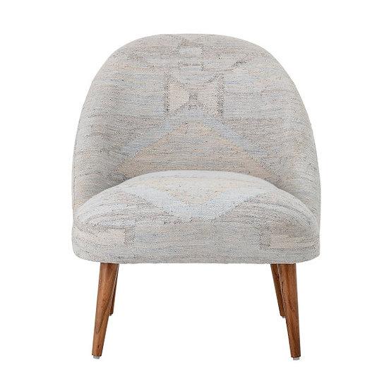 Ξύλινη πολυθρόνα σε Boho style