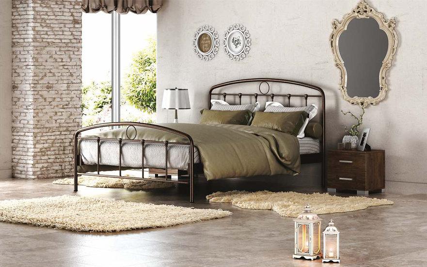 Oxford 150 / Διπλό Κρεβάτι Μεταλλικό