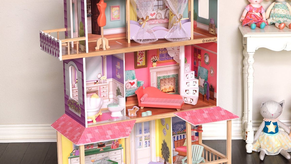 Viviana Dollhouse / Κουκλόσπιτο KidKraft