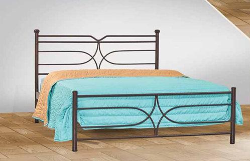 ημίδιπλο μεταλλικό κρεβάτι για στρώμα 110 Χ 190/200 σε προσφορά