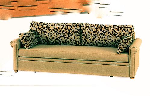 καναπές κρεβάτι με 2 στρώματα, σε ποικιλία υφασμάτων