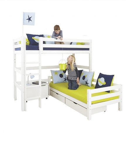 Κουκέτα με 2 κρεβάτια γωνία