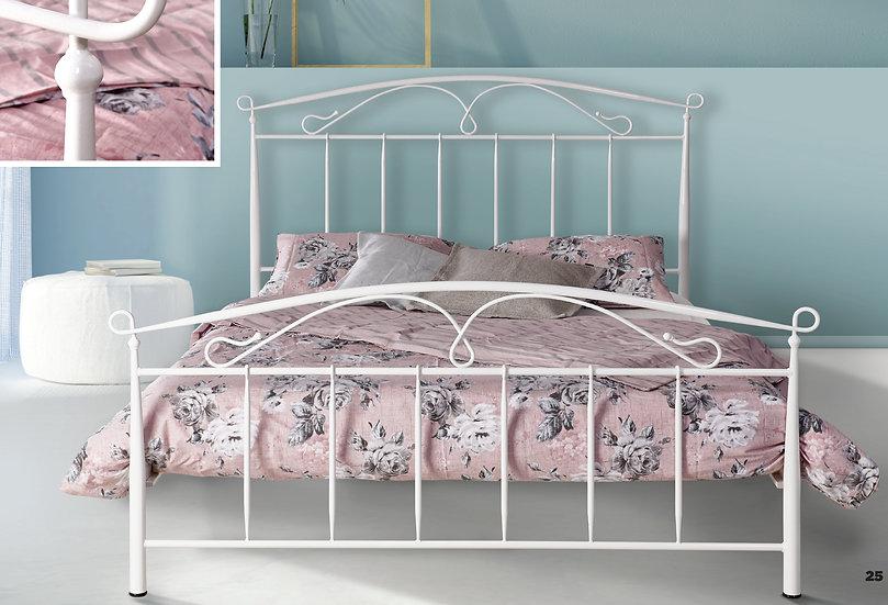 Σιδερένιο κρεβάτι στιβαρή κατασκευή