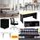 φοιτητικό πακέτο επίπλων κρεβάτι στρώμα καναπές τραπεζαρία γραφείο