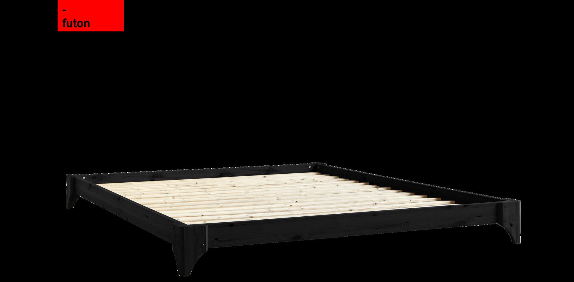 Διπλό Ιαπωνικό κρεβάτι πλατφόρμα 140Χ200 μασιφ ξύλο