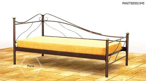 μεταλλικός καναπές κρεβάτι γαι στρώμα 90Χ190