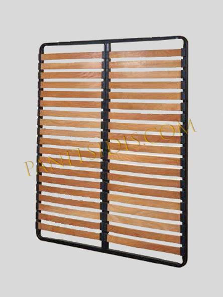 ανατομικό τελάρο με 17 τάβλες κατάλληλο για στρώματα με ανεξάρτητα ελατήρια