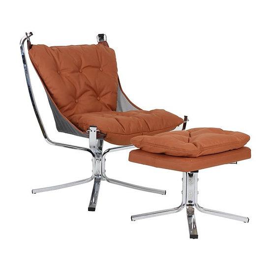 Πολυθρόνα με σκαμπό