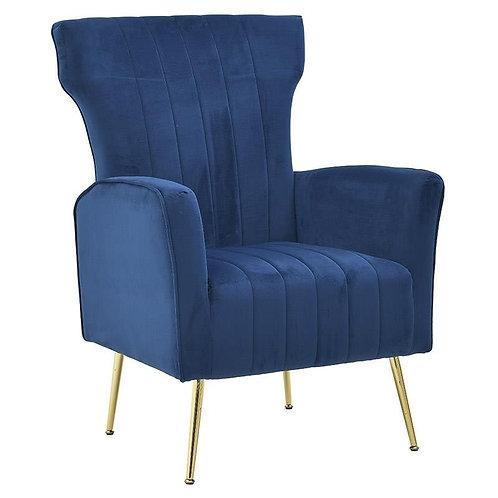 Πολυθρόνα σαλονιού μπλε