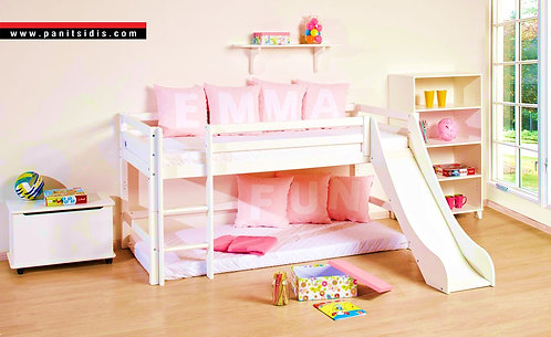 Premium Bed with Slide / κουκέτα με τσουλήθρα