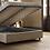 κρεβάτια με μπαούλο αποθηκευτικό χώρο ύφασμα δερματίνη