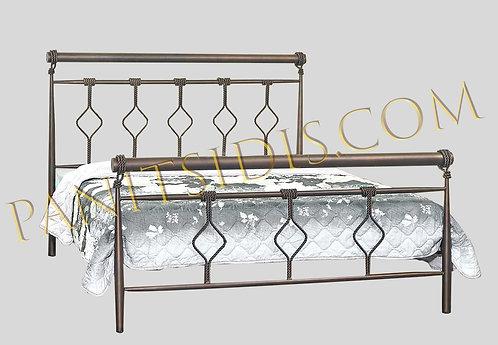 Madison 150 / διπλό μεταλλικό κρεβάτι