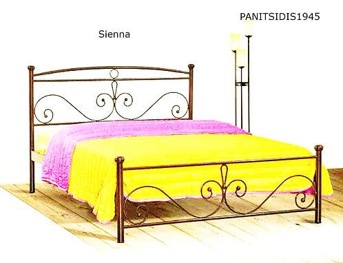 ημίδιπλο μεταλλικό κρεβάτι για στρώμα 110 Χ 190/200