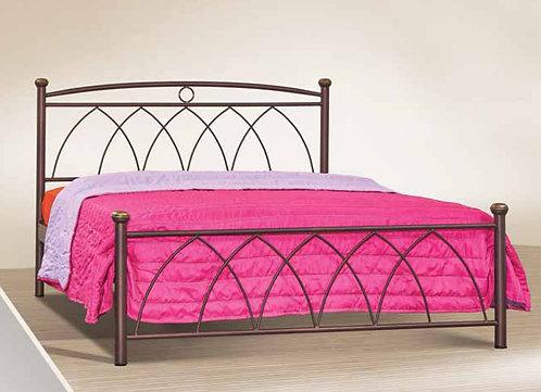 διπλό μεταλλικό κρεβάτι 140 Χ 200 για οικίες ,ξενοδοχεία,airbnb