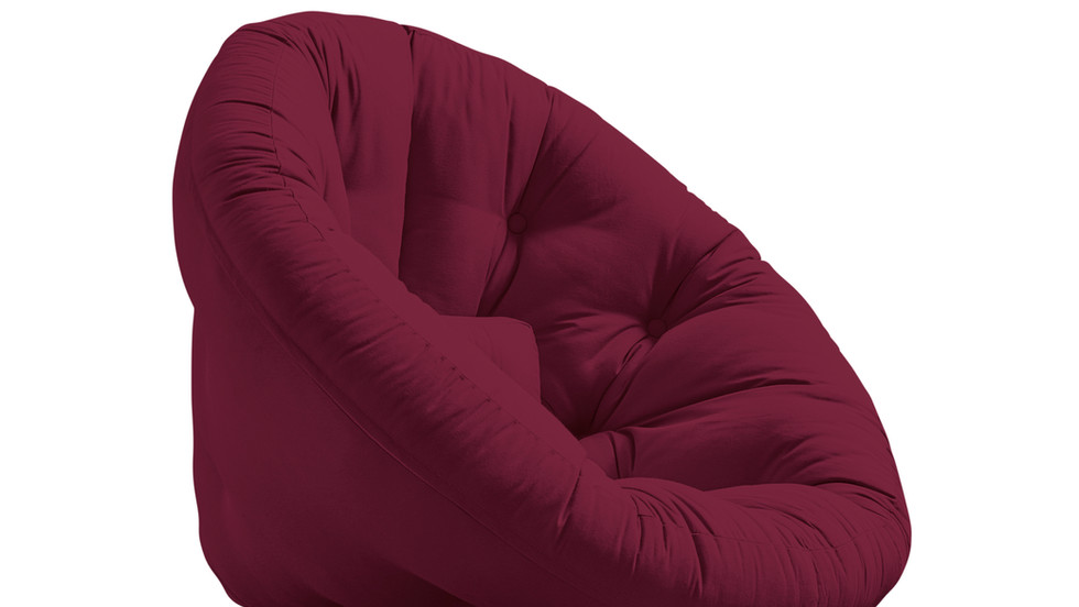 μονή πολυθρόνα με στρώμα φουτόν που γίνεται κρεβάτι
