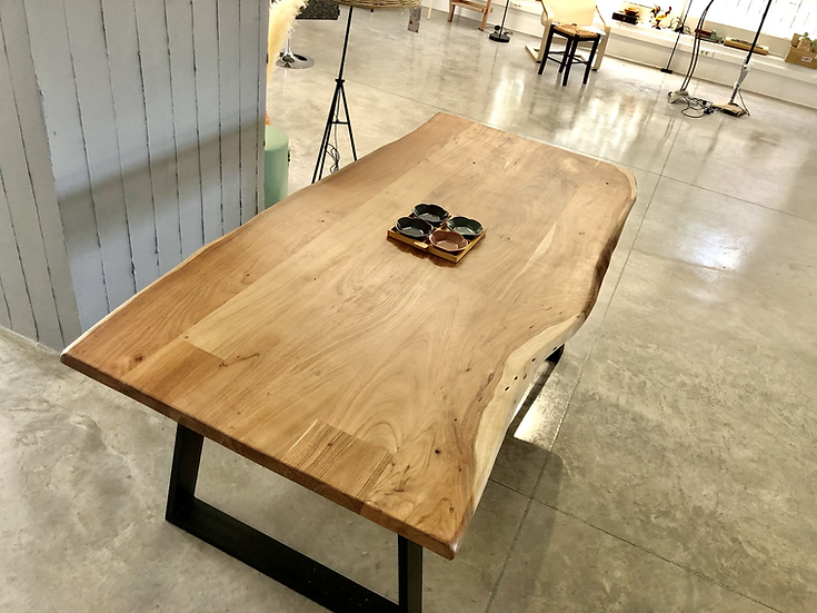 Patmos S. 160 / μασίφ ξύλινο τραπέζι