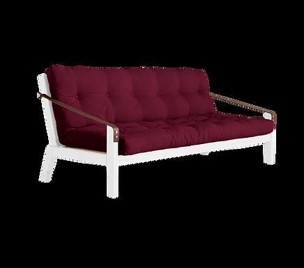 Poetry Sofa Bed White / 3θέσιος Καναπές Κρεβάτι