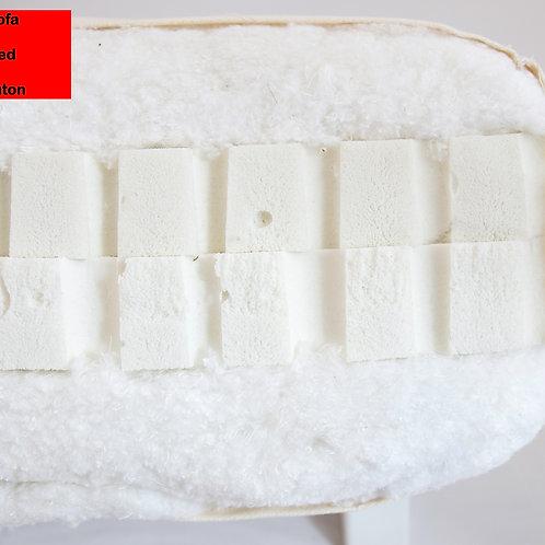 double latex futon mattress,futon στρώμα χειροποίητο με διπλό λάτεξ διάσταση 80Χ200