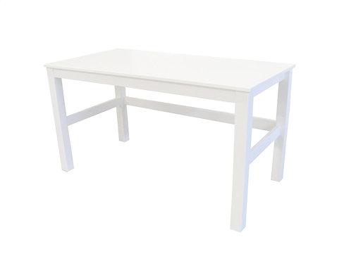 ξύλινο γραφείο παιδικό εφηβικό σε λευκή λάκα,paidiko grafeio panitsidis