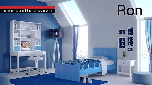 μονό παιδικό εφηβικόκρεβάτι για στρώμα 90Χ190/200
