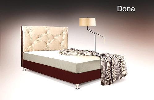 διπλό κρεβάτι ντυμένο-καπιτονέ για στρώμα 150Χ200
