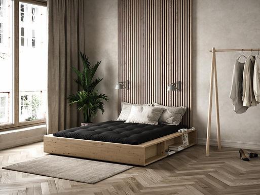 Ziggy Bed + Mattress / Κρεβάτι + Στρώμα σετ